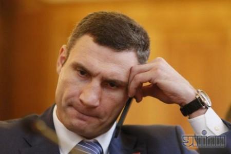 """Виталий Кличко серьёзно обеспокоен командой Офиса Президента силовикам """"поставить его на колени""""."""