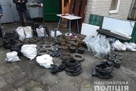 У Дніпрі поліцейські встановили групу осіб, які викрали майно державного підприємства на суму понад мільйон гривень.