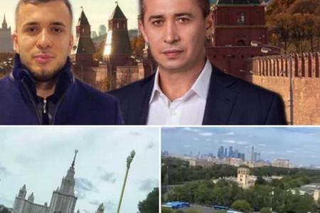 Депутат из Днепра и сын кандидата в мэры Загида Краснова развлекался в Москве
