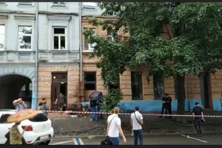 Теракт на пр. Яворницького?
