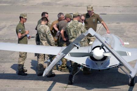 В Украине впервые применили турецкий беспилотник Bayraktar