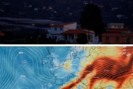 Вулканічна хмара з Іспанії дійшла до України: Чи є загроза для Дніпра?